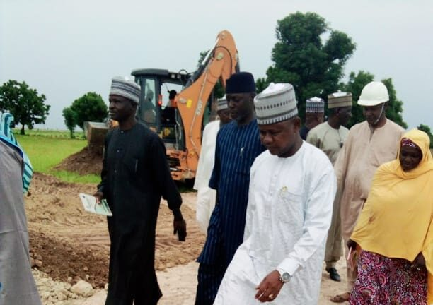 ROAD: Construction of 13 Km Road Projects in Jere LG.