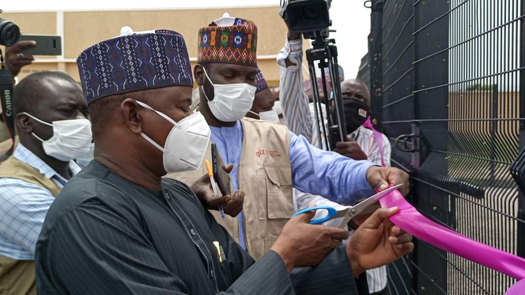 Borno State Government Commissioned EU and German Funded Projects