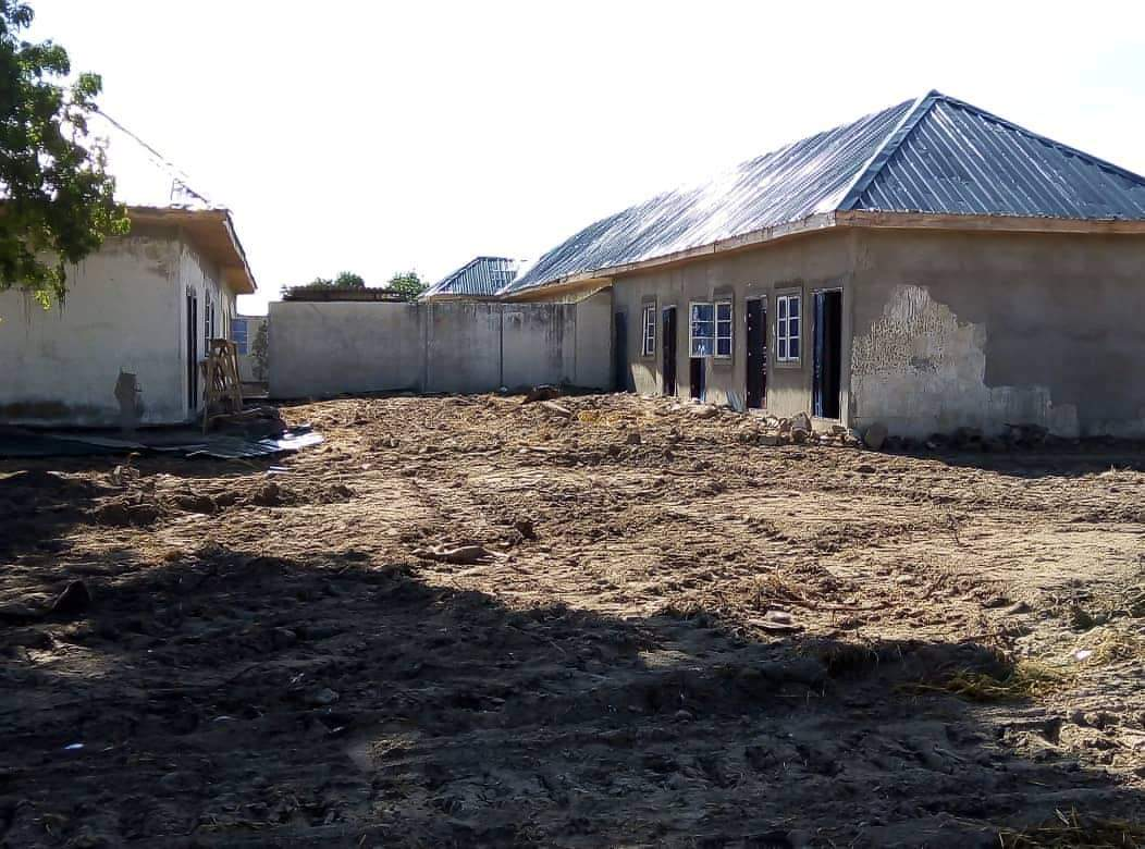 Rehabilitation: Ongoing Construction of 500 Housing Units in Marte