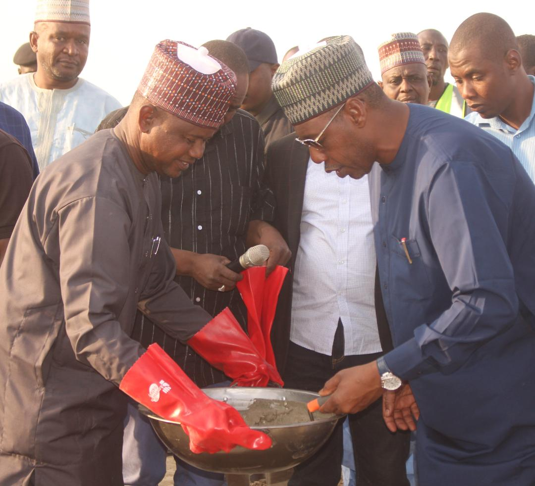 FIRST YEAR IN OFFICE: Eng Mustapha Gubio